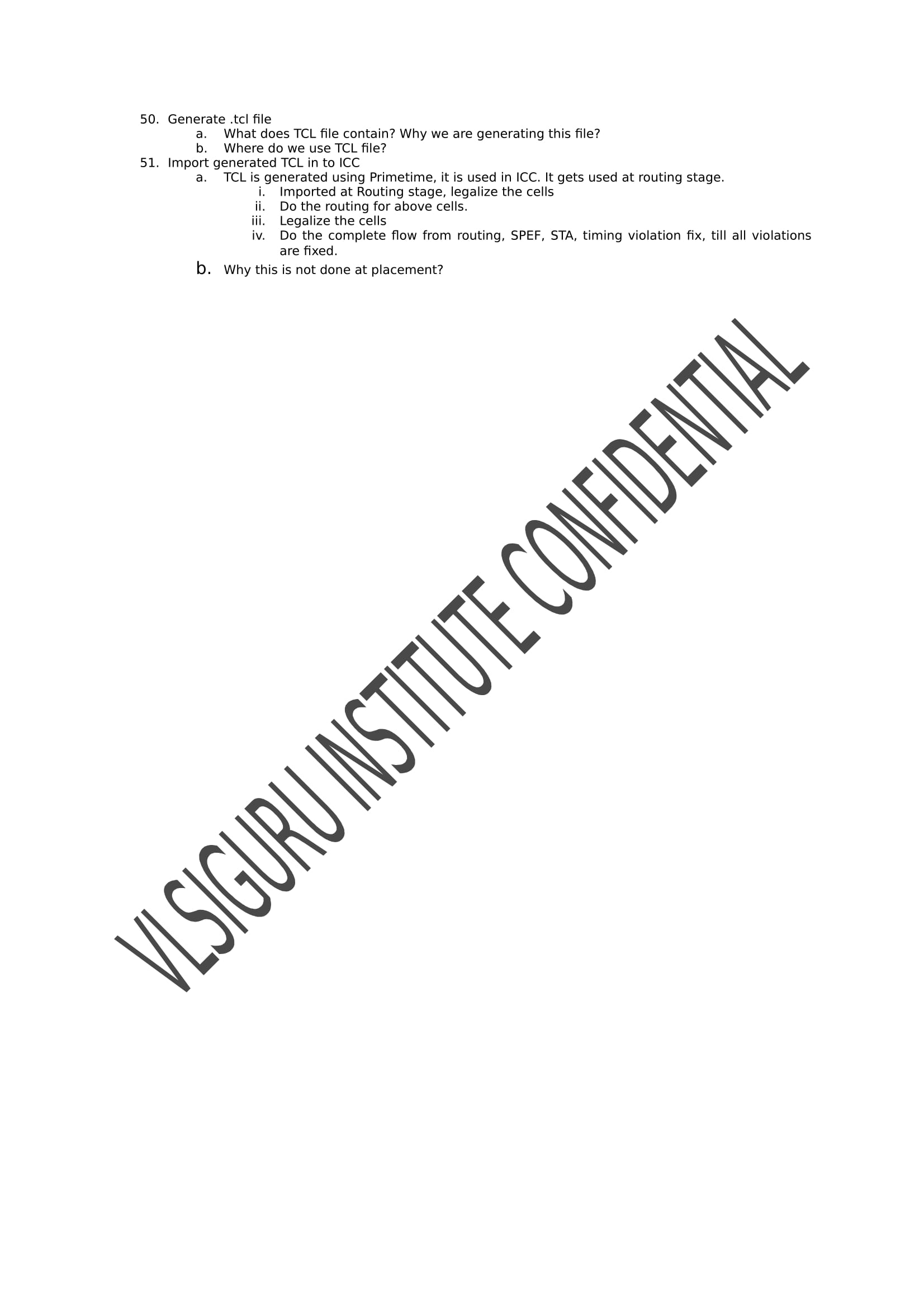 Physical Design Training - vlsi